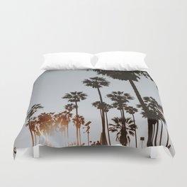 palm trees vi / venice beach, california Duvet Cover