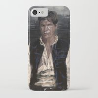 han solo iPhone & iPod Cases featuring Han Solo by Rafal Rola