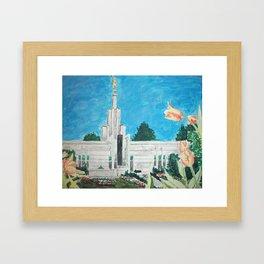 The Hague Netherlands LDS Temple Framed Art Print