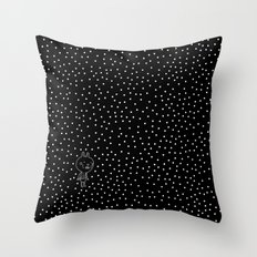 Cosmos rabbit Throw Pillow
