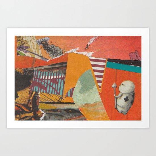 Prince of Orange Art Print