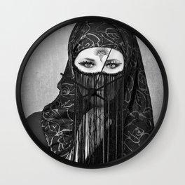 Hijab II Wall Clock