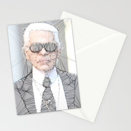 ICONS: Karl Lagerfeld Stationery Cards