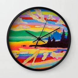 Picnic Point Wall Clock