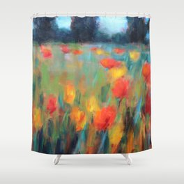 Hillside Brights Shower Curtain