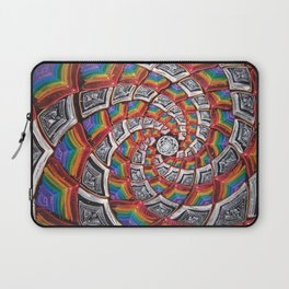 Tunnel To The Moon Laptop Sleeve