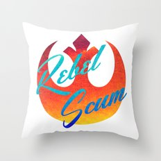 Star Wars Rebel Scum Throw Pillow