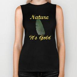 NATURE IS GOLD - HYBRYDUS Biker Tank