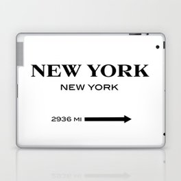 gossip girl sign Laptop & iPad Skin