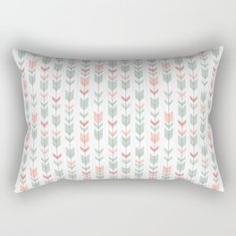 Arrow Pattern Rectangular Pillow