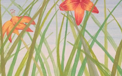 Art Print - Lily Bloom - Courtney B. Downing