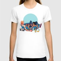 pool T-shirts featuring pool party by musa
