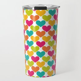 Lovely Hearts Travel Mug