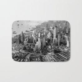 Historic Manhattan 1931 Bath Mat