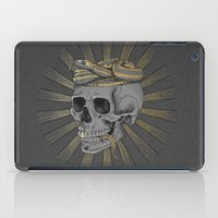 stay gold iPad Cases featuring stay gold by Laura Graves