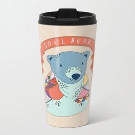 Soul Bear Metal Travel Mug