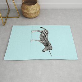 Unicorn Zebra Rug