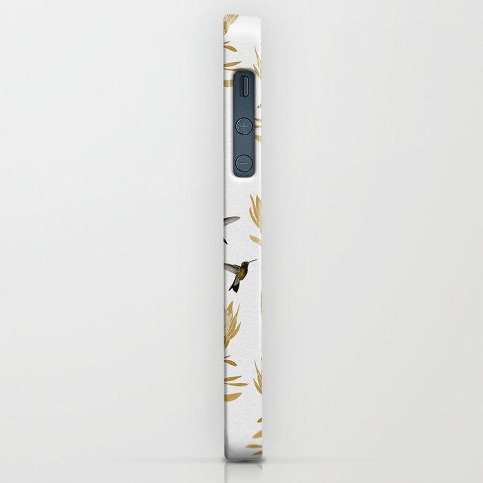 Hummingbird & Flower I iPhone Case