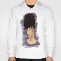 afro Hoodies featuring Afro by Adelys