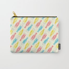 Wax Candy Bottles Pattern Carry-All Pouch