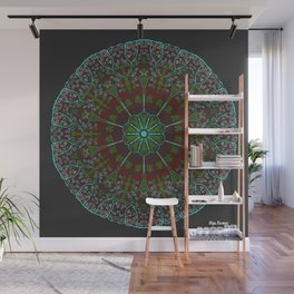Cluster Wall Mural