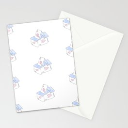 Château d'cartes Stationery Cards