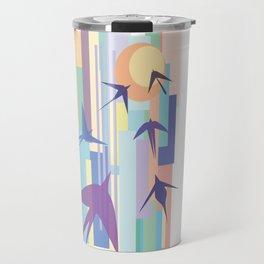 Birds and the Sun Travel Mug