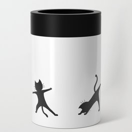 Yoga cats Can Cooler