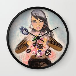 Inner Child Superstar Wall Clock
