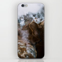 Kerlingarfjöll mountain range in Iceland - Aerial Landscape Photography iPhone Skin