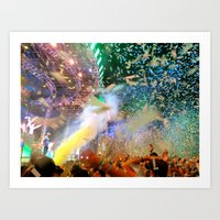 Coachella HAPPY Art Print