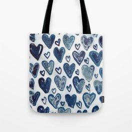 Hearts aplenty. Tote Bag
