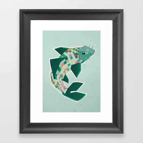 scalation Framed Art Print