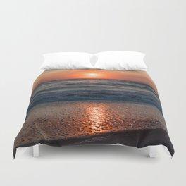 Canaveral Seashore Sunrise Duvet Cover