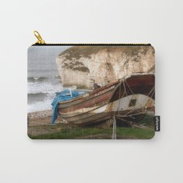 Boats at Thornwick Bay Carry-All Pouch