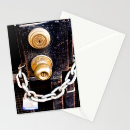 Locked 2011 Stationery Cards