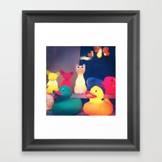 Ducky Framed Art Print