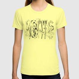 Sorte Santeria T-shirt