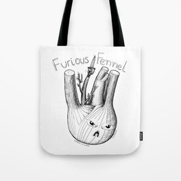 Furious Fennel Tote Bag