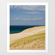 Sand Dune Hillside Art Print
