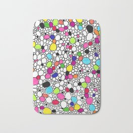 Circles and Other Shapes and colors Bath Mat