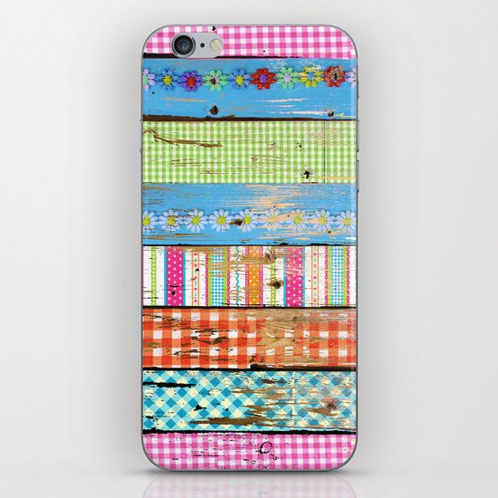 Country Wood iPhone & iPod Skin