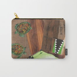 I Like Turtles Carry-All Pouch