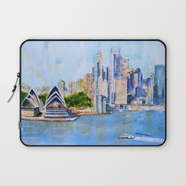Colorful Sydney Harbor Laptop Sleeve
