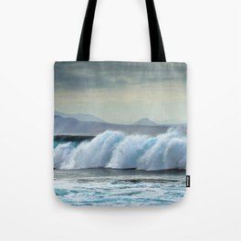 Wave Series Photograph No. 20 - The Blue Wave Tote Bag