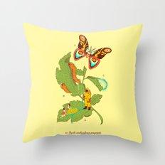 Papilio insulaeinfanum praegrandis Throw Pillow