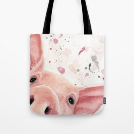 Cute Pig Tote Bag