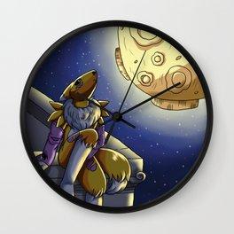 Moonlit Vixen Wall Clock