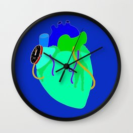 Countdown Heart Wall Clock