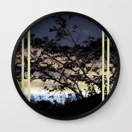 Romantic Sundown #1 Wall Clock